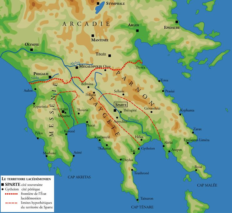 Messenia in the past, History of Messenia
