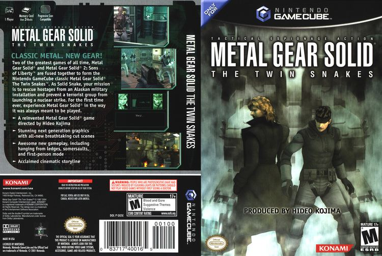 Metal Gear Solid: The Twin Snakes wwwtheisozonecomimagescovergc106jpg