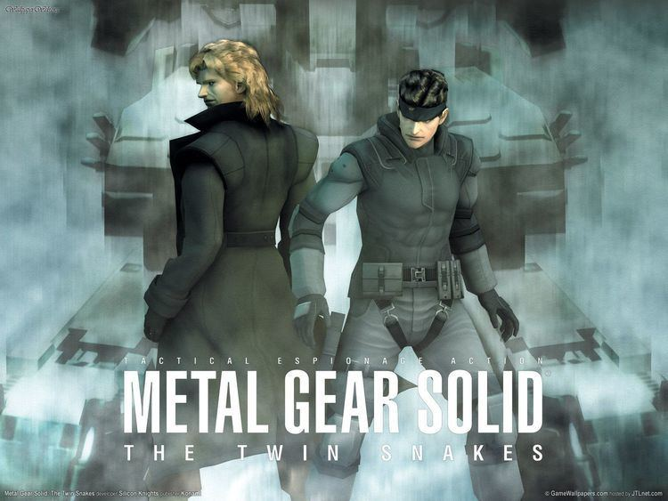 Metal Gear Solid: The Twin Snakes Pattern Metal Gear Solid Th COLOURlovers
