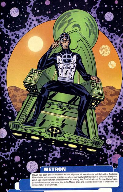 Image result for new gods metron