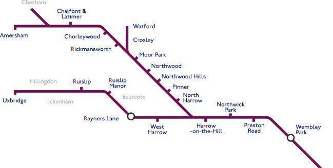 Metropolitan line Metropolitan Line StationMasterApp