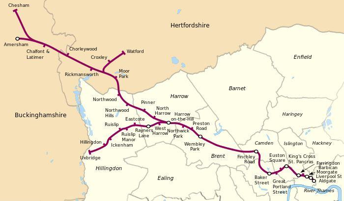 Metropolitan line Metropolitan line Wikipedia