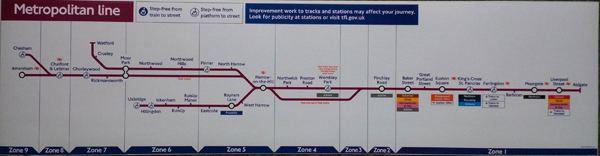 Metropolitan line Metropolitan Line Car Diagram Car Line Diagrams London Bus Blinds