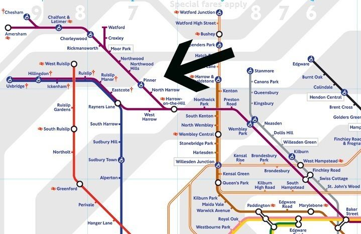 Metropolitan line A Guide to Commuting on the Metropolitan Line from Pinner She