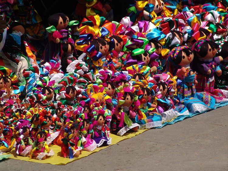 Mexican rag dolls (Marias)