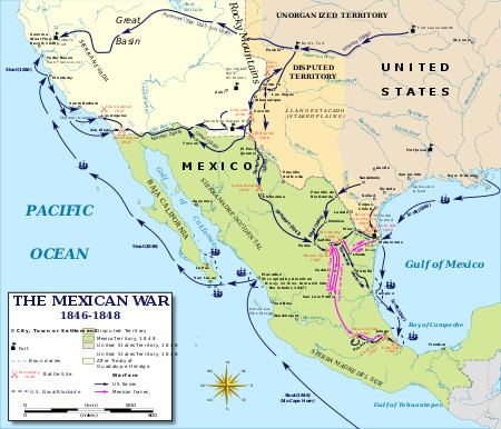 Mexican–American War MexicanAmerican War Wikipedia