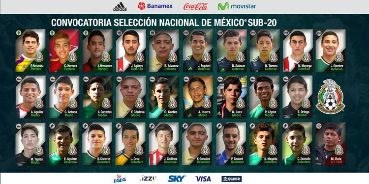 Mexico national under-20 football team miseleccionmxwpcontentuploads201601CONVOCAT