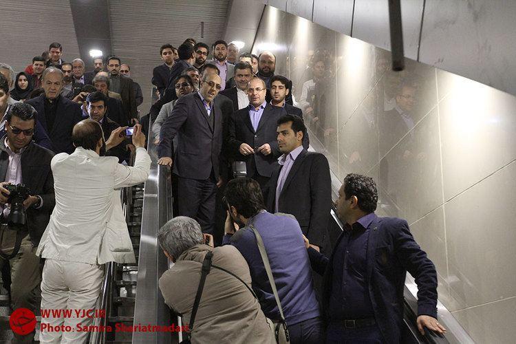 Meydan-e Vali Asr Metro Station cdnyjcirfilesfanews139312113015774977jpg
