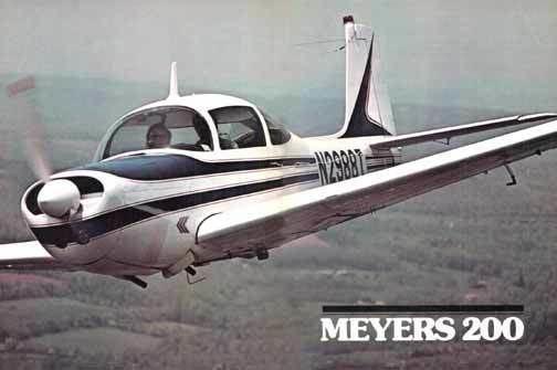 Meyers 200 Pirep Meyers 200D
