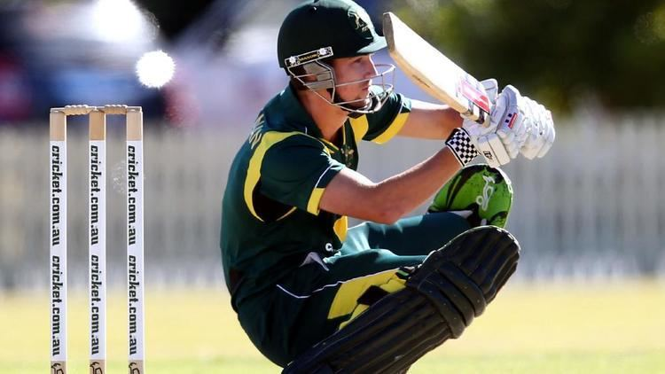 Meyrick Buchanan Meyrick Buchanan back on the cricket field but AFL dream lives on