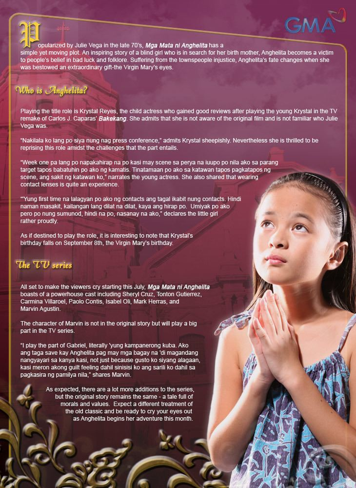 Mga Mata ni Anghelita The Return of Anghelita Showbiz News GMA Entertainment Online