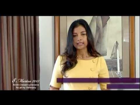 Mialy Rajoelina Mialy Rajoelina 8 mars 2013 YouTube