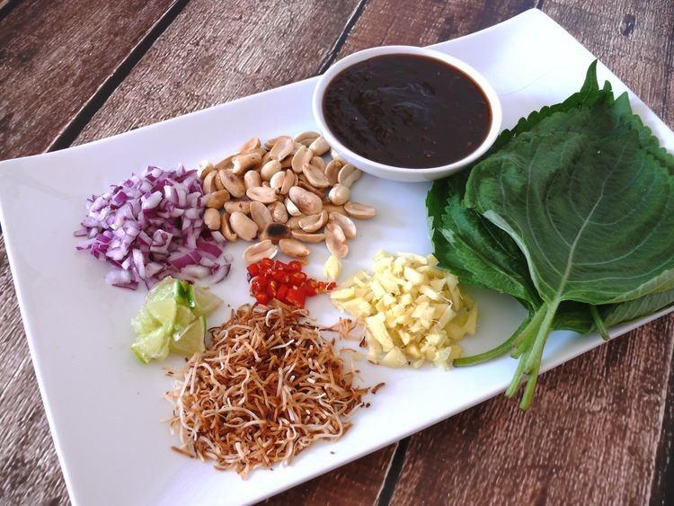 Miang kham Vegetarian Miang Kham Mayabugs39s Recipes