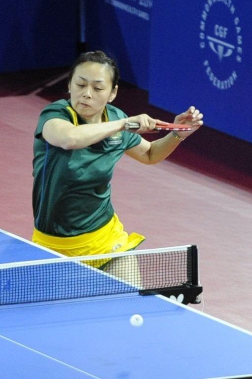 Miao Miao Miao Miao Table Tennis Australia revolutioniseSPORT