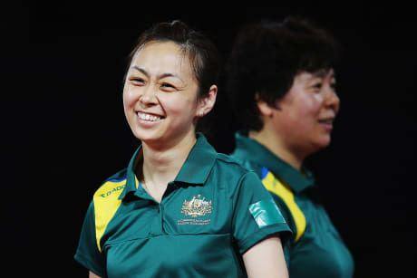 Miao Miao Australian Olympic Committee Table tennis players begin Olympic journey