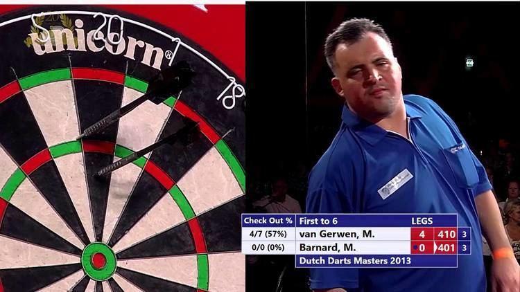 Michael Barnard (darts player) DDM13 301 Michael van Gerwen vs Michael Barnard YouTube