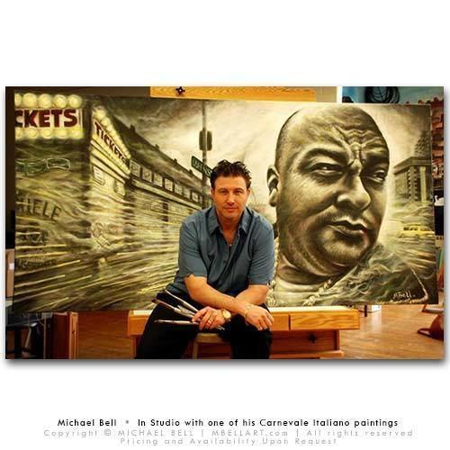 Michael Bell (artist) Biography on Renowned Artist Michael Bell of MBELLARTcom Artists