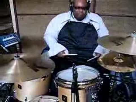 Michael Bland Michael Bland recording Drums in LA Studio YouTube