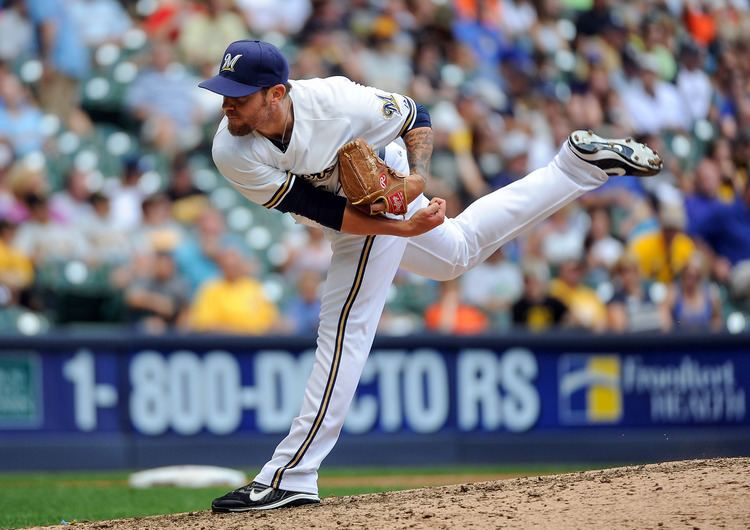 Michael Blazek Notes Newest Brewer Michael Blazek sensed trade was brewing