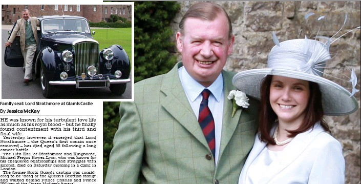 Michael Bowes-Lyon, 18th Earl of Strathmore and Kinghorne PressReader Scottish Daily Mail 20160301 Lord with lust for life