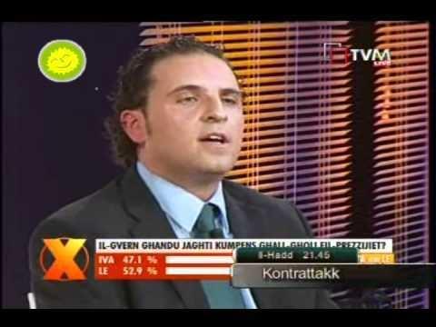 Michael Briguglio Michael Briguglio On Xarabank 14th Jan 2011 Part 1 YouTube