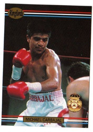 Michael Carbajal Michael Carbajal 39 RINGLORDS 1991 Boxing Trading Card