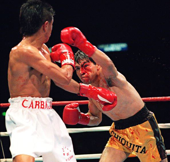 Michael Carbajal On This Day Michael Carbajal becomes the first man under 128lbs to