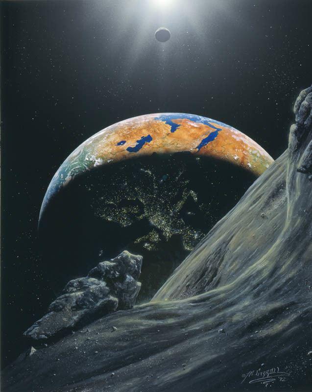 Michael Carroll (space artist) Michael Carroll Space Art Mars Artists Community