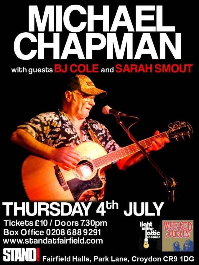Michael Chapman (singer) Free Basin39 Friday Michael Chapman Wrecked Again