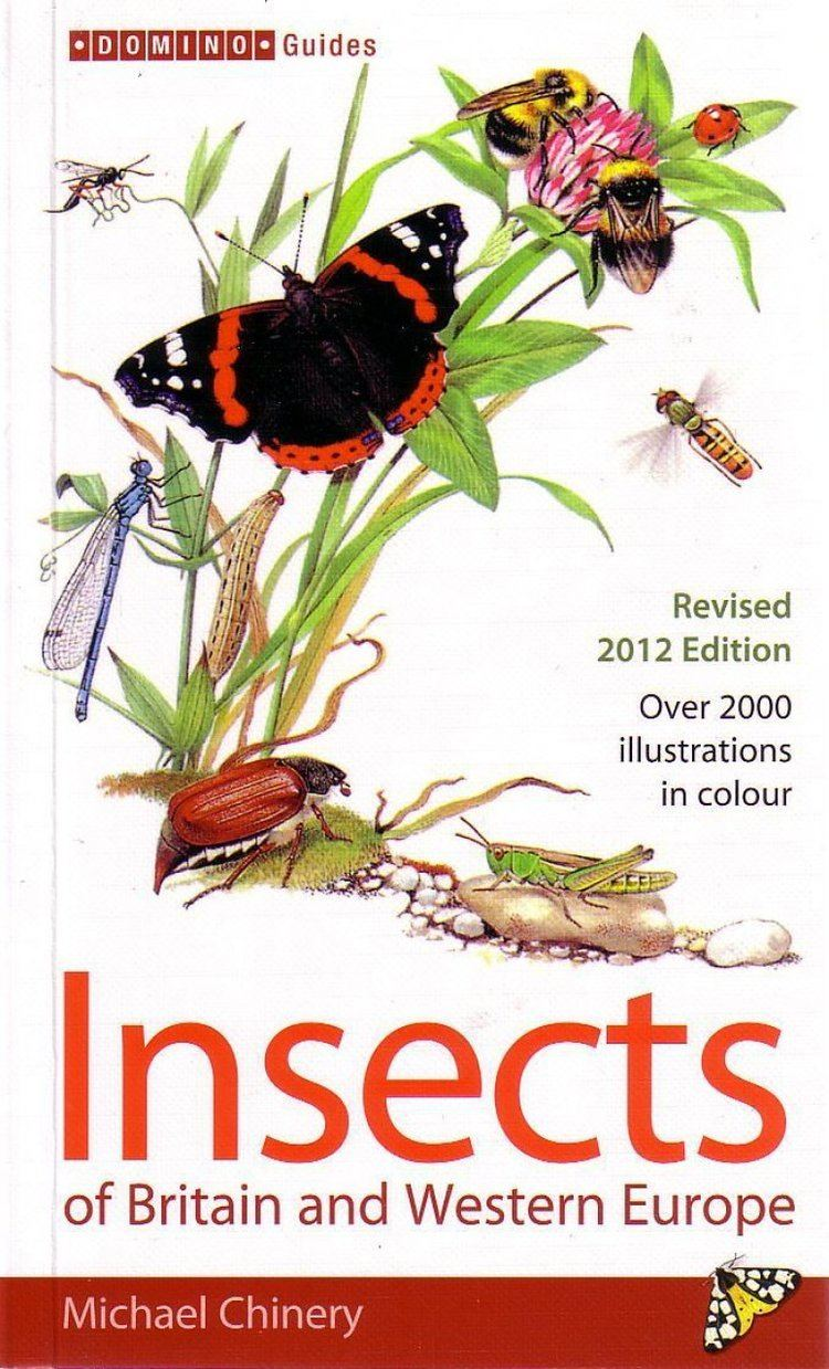 Michael Chinery Insects of Britain and Western Europe Michael Chinery NHBS Shop