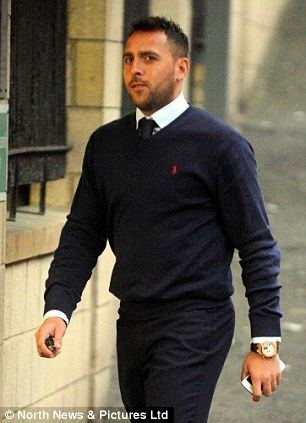 Michael Chopra Cocaine gang who were carrying 50000 to pay off footballer Michael