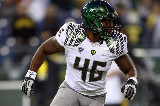Michael Clay Michael Clay Scouting Report NFL Outlook for Oregon OLB