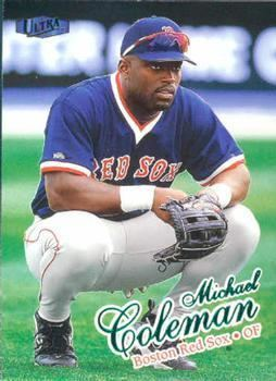 Michael Coleman (baseball) Michael Coleman Gallery The Trading Card Database