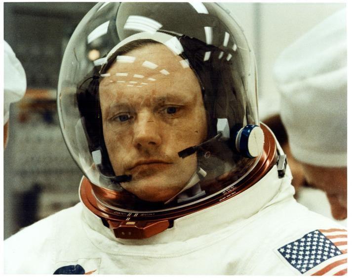 Michael Collins (astronaut) Neil Armstrong en photos