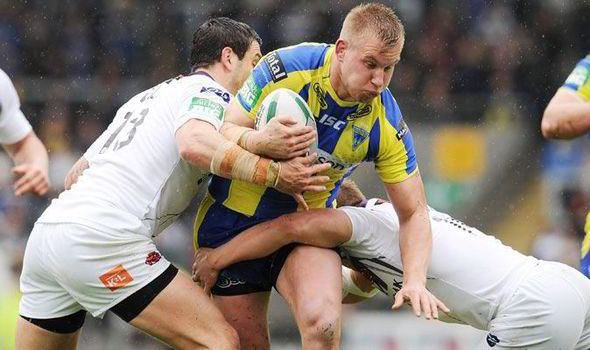 Michael Cooper (rugby league) Rugby League Warrington39s Mike Cooper out to fly on a