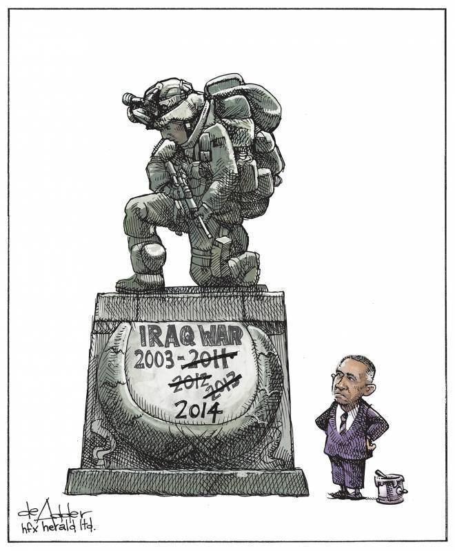 Michael de Adder Editorial Cartoon The Chronicle Herald