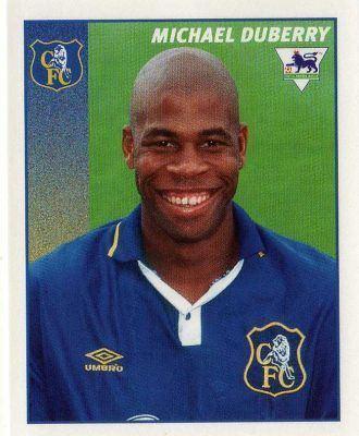 Michael Duberry CHELSEA Michael Duberry 91 MERLIN Premier League 97