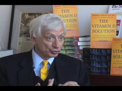 Michael F. Holick Michael F Holick PhD MD discusses THE VITAMIN D SOLUTION