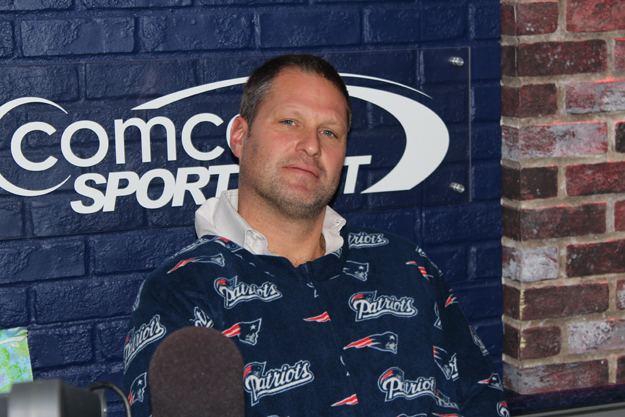 Michael Felger Michael Felger Sports Patriots Footie Pajamas PHOTOS