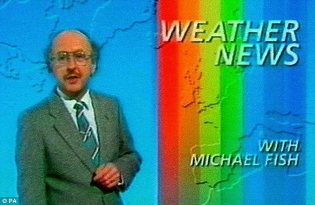 Michael Fish Forecaster Michael Fish victim of St Jude39s Storm as tree