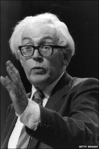 Michael Foot BBC News In pictures Michael Foot