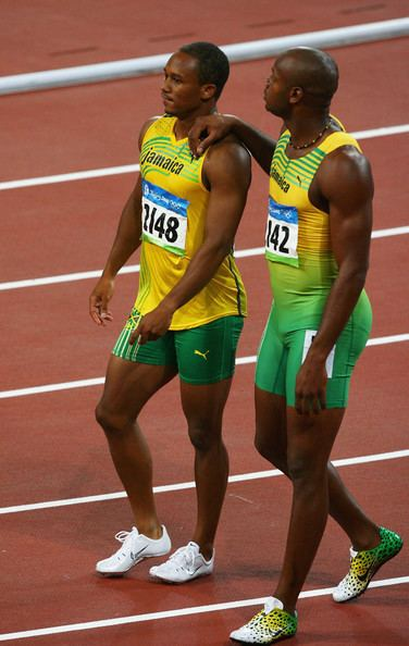 Michael Frater Michael Frater Pictures Olympics Day 8 Athletics Zimbio
