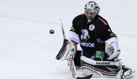 Michael Garnett Team Canada Goalie Michael Garnett Talks KHL Interviews