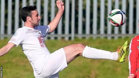Michael Gault Portadown midfielder Gault to join Crusaders BBC Sport
