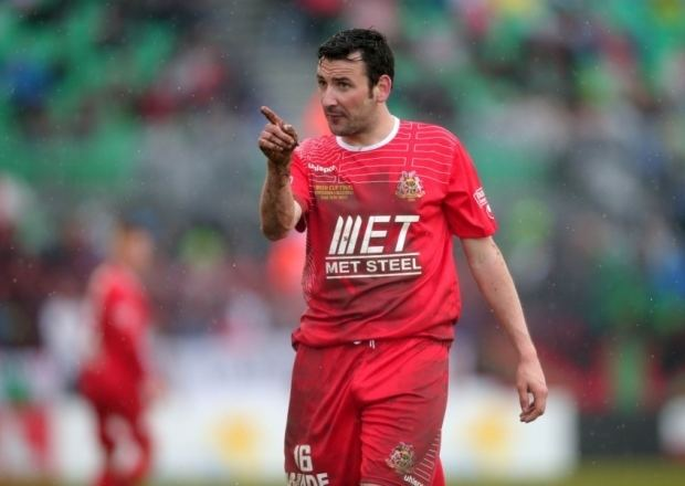 Michael Gault Match official in apology to Ports midfielder Gault after