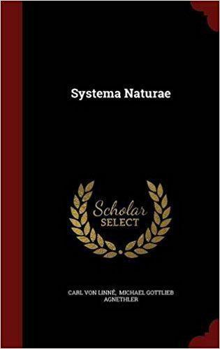 Michael Gottlieb Agnethler Systema Naturae Carl von Linn Michael Gottlieb Agnethler