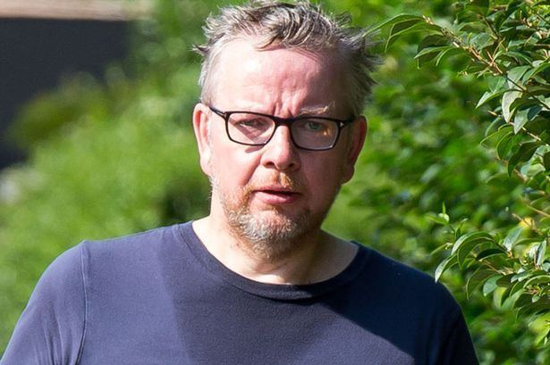 Michael Gove Michael Gove has grown a slightly ginger beard and everybodys