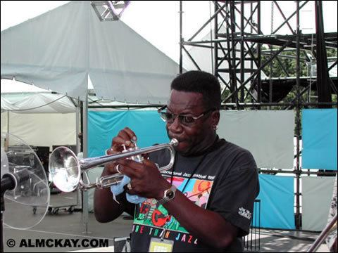 Michael Harris (trumpeter) Horns trumpeter Michael Harris