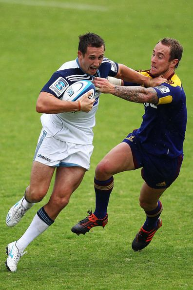 Michael Hobbs (rugby union) Michael Hobbs Photos Photos Blues v Highlanders Super Rugby