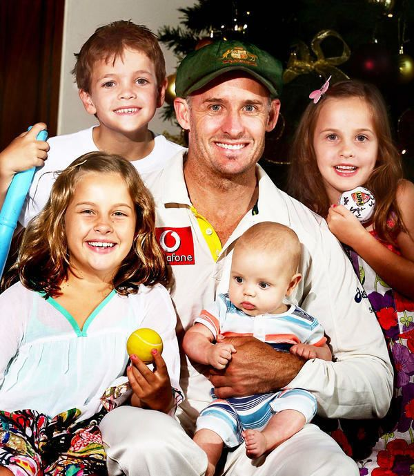Michael Hussey (Cricketer) family